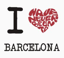 I Love Barcelona by FC Designs