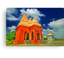 Shiv Temple - Tulapur Canvas Print