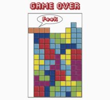 Tetris - GAME OVER by GKuzmanov
