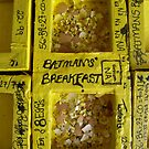 BATMANS BREAKFAST - BATMAN: 8 EGG'S NO54 by Tuartkatz