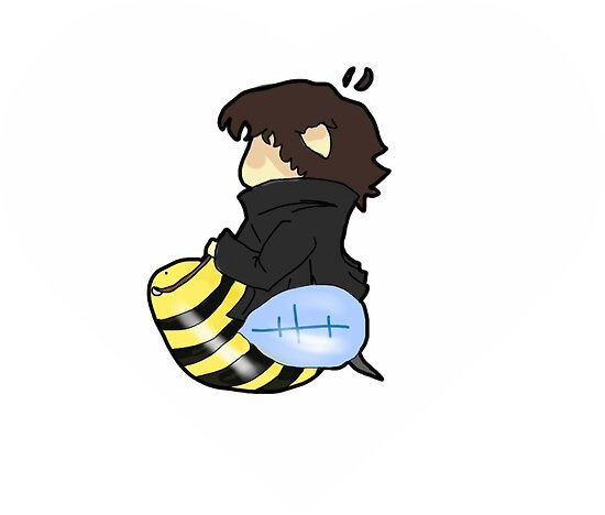 Sherlock on a Bee by Tinah