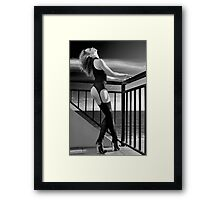 Passion at Sunset Framed Print