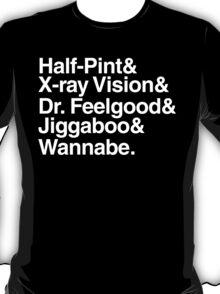 Discreetly Greek - School Daze Beatles Parody T-Shirt