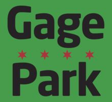 Gage Park Neighborhood Tee by Chicago Tee
