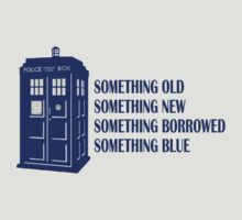 Tardis - Something Old, New, Borrowed, Blue by oawan