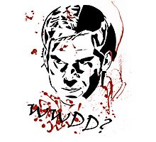 What Would Dexter Do? Photographic Print