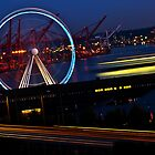 Seattle Great Wheel by Ryan J. Zeigler