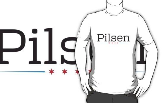 Pilsen Neighborhood Tee by Chicago Tee
