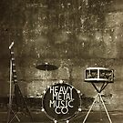 Heavy Metal Music Co. by Peter Gray