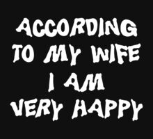 Funny Married by FamilyT-Shirts