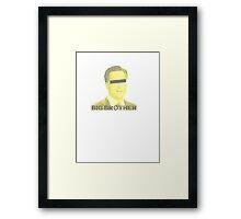 Mitt Romney big brother 2012 vintage Framed Print