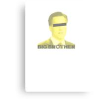 Mitt Romney big brother 2012 vintage Canvas Print