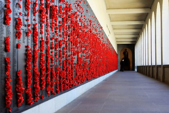 lest we forget by Maria  Moro