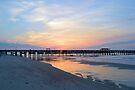 Morning At The Pier by ©Dawne M. Dunton