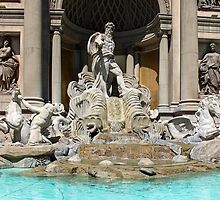 Trevi Fountain ~ Caesar's Palace by Clark Thompson