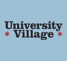 University Village Neighborhood Tee by Chicago Tee