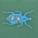 Owl Beetle  by Trudi Hipworth