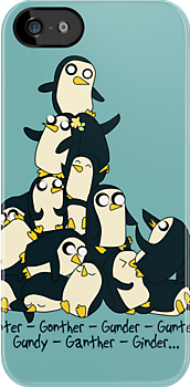 Gunter Penguins by KisaSunrise