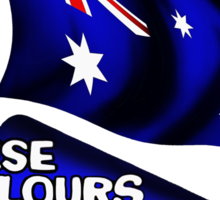 These Colours Don't Run - Australia Sticker