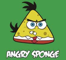 Angry Sponge by Barbo