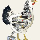 Factory Chicken by Compassionate Tees