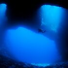 Blue Holes, Palau by allyazza