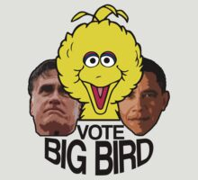 VOTE BIG BIRD by stevebluey