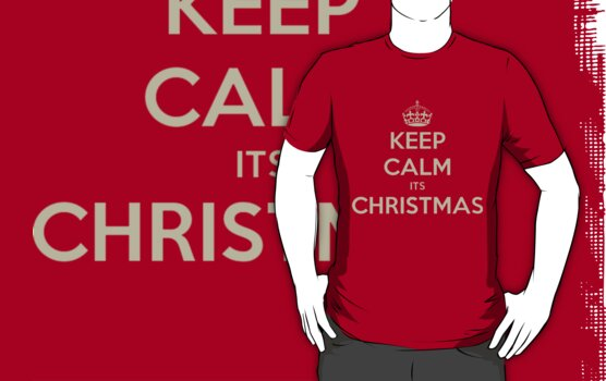 Keep calm its christmas by Zozzy-zebra