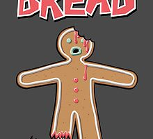 The Walking Dead GingerBread Man Zombies  by Creative Spectator