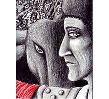 Corrida colored pencil drawing Photographic Print