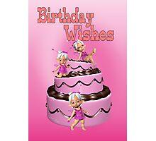 Birthday Cake Photographic Print