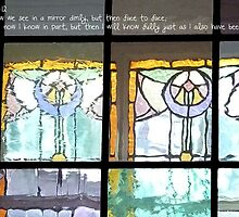 Window Pane Angels by M. Kuypers