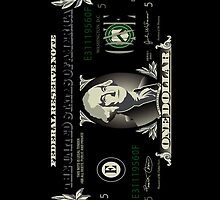 One US Dollar Bill iPhone 4 / iPhone 5 Case / Samsung Galaxy Cases  by CroDesign