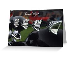 """""""Supercharger"""" Greeting Card"""