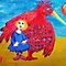 Cusp Cuspschen&#x27;s &#x27;Girl and Big Bird&#x27; by Art 4 ME