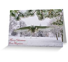 Merry Christmas From Hogwarts Greeting Card