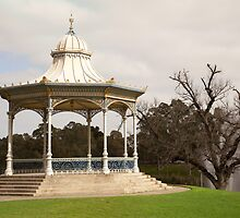 The Elder Park Rotunda by Peter Edwards