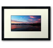Sunrise at Babcock/ Cecil M. Webb Framed Print
