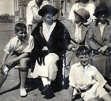 Holiday Cricket Day 1923 by Robert Phillips