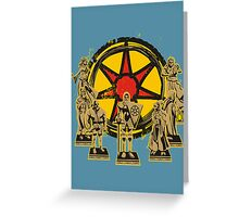 FAITH OF THE SEVEN Greeting Card