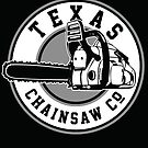 Texas Chain saw Massacre &#x27;Texas Chain saw Company logo&#x27;  by Creative Spectator