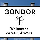 Gondor Welcome Careful Drivers by Vince Fitter