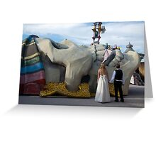 Love Conquers All Greeting Card