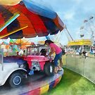 Car Ride at the Fair by Susan Savad
