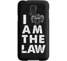 I am the law [white] Samsung Galaxy Case/Skin