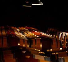 Barrel Room - Hess Winery by rrushton