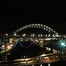Tyne at Night by neon-gobi