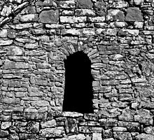 Ireland in Mono: Dark Window by Denise Abé