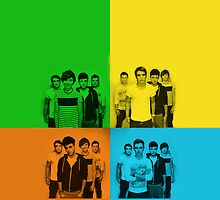 Union J - 4 Square by jnnps