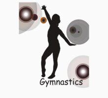 Gymnastics Silhouette by JoeyButterfly
